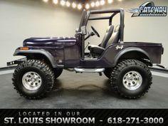 1975 Jeep CJ5   - Stock #5836-STL