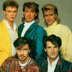 Spandau Ballet...I rhink they were the cutest things in 80s mullets. My late mom was right...they're hot!