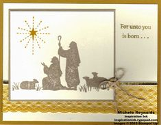 Every Blessing Delightful Star by Michelerey - Cards and Paper Crafts at Splitcoaststampers Create Christmas Cards, Stamped Christmas Cards, Stampin Up Christmas, Christmas Greeting Cards, Handmade Christmas, Holiday Cards, Christian Christmas, Stamping Up Cards, Christmas Projects