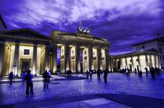 The Brandenburg Gates in Berlin