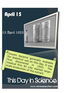 April 15 - This Day in Science | Mr. Researcher