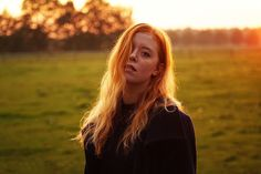 Annerieke: GOLDEN FRECKLES, HAIR AND SUNSET