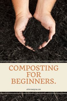 Composting for beginners, The complete guide helps new gardeners who are terrified by the very word compost. But I am here to tell you that composting isn't hard nor does it have to be complicated. After all, It is a natural process and all you're really doing is helping to speed up the entire procedure. #compost #howtomakecompost #compostingathome #gardening #outdoorgarden #edible #growyourown #garden #gardening