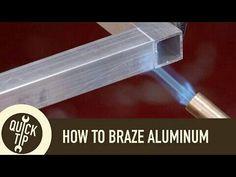 how to weld allu.