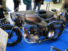 1932 Peugeot French moto
