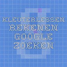 kleuterlessen rekenen - Google zoeken