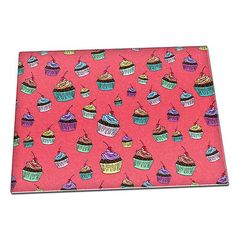 Cute #cupcakes pattern sweets glass #chopping #board 112,  View more on the LINK: http://www.zeppy.io/product/gb/2/222097546001/
