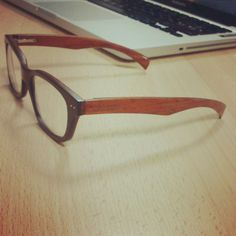 Des lunettes en bois pour une juste vision du concept #wood #glasses #design