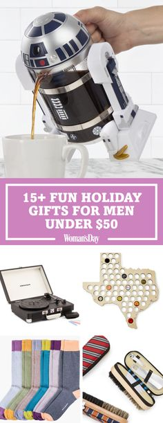 20 christmas gifts for men under 50