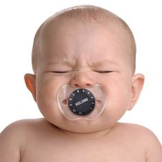 FUNNY FACE PACIFIER - VOLUME CONTROL at What on Earth | CL5802