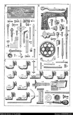 """Instructions for working the Wertheim """"Griffin"""" family sewing-machine.. - Page 2"""
