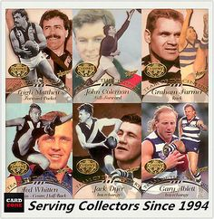 Australian Football Cards 166107: 1996 Select Afl Hall Of Fame Team Of The Century Card Full Set (22) Rare Popular -> BUY IT NOW ONLY: $899.95 on eBay!