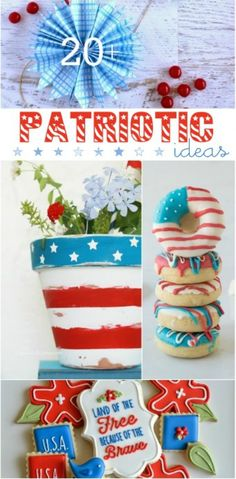 20+ cute patriotic ideas » Lolly Jane