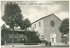 St Anselms Church, Kennington 1933