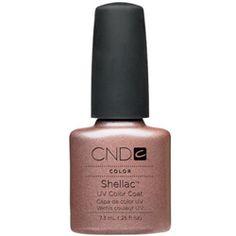 CND Shellac UV Color Coat ICED CAPUCCINO 0.25 oz