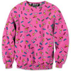 Cartoon Sprinkle Sweatshirt