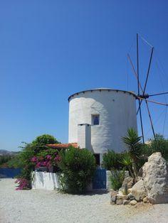 Cheeky windmill, Kefalos