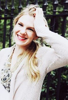 Lily Rabe, that smile is perfection