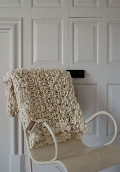 Pixie Dust Lap Blanket in Cool White!.