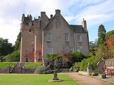 Crathes Castle from the East