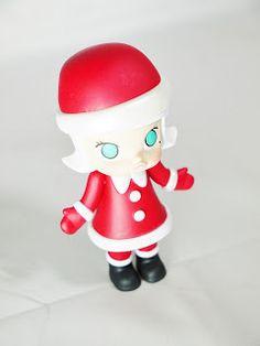 Kennyswork POP MART MOLLY CHRISTMAS Series 2016 Figure Santa Claus Molly Special Version