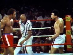 THE GREATEST -- George Foreman vs Muhammad Ali - Oct. 30, 1974  - Entire fight - Rounds 1 - 8 & Interview