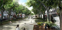 Alday Jover | Proyecto de integración urbana del Tranvía de Zaragoza | HIC Arquitectura
