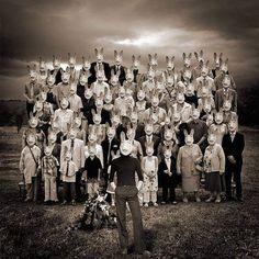 Class photo.....of Rabbits