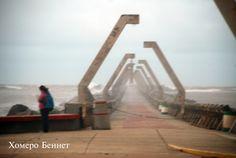 Oleaje, vientos y alta humedad relativa en las escolleras de Coatzacoalcos Vientos 80 kph Humedad relativa 93%