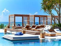 El 1 Hotel South Beach cuenta con cuatro piscinas. | Galería de fotos 9 de 15 | AD MX
