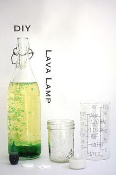 DIY Lava Lamp  |  Tinkering with @tinkerlab