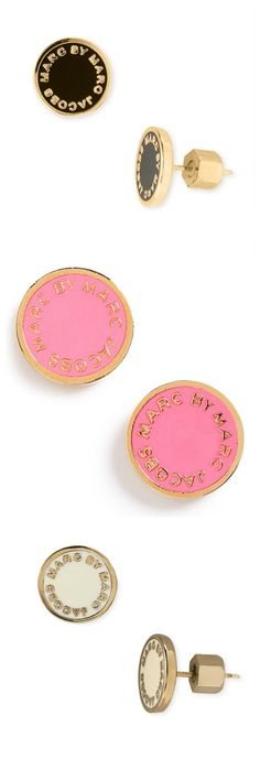 These Marc Jacob earrings are a fun and quirky addition to any ensemble.
