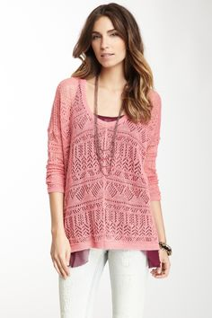 Free People Waterfalls Pullover
