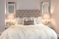 Simple yet elegant guest bedroom | JHR Interiors
