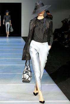 Smartologie: Giorgio Armani Spring 2012 - Milan Fashion Week