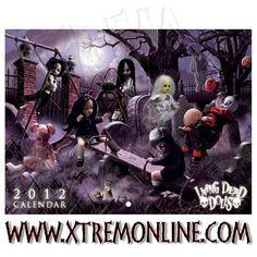 Living Dead Dolls Calendario 2012.