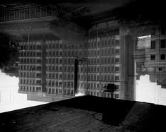 Abelardo Morell, Building Inside St. Pancras Chambers Room, London, England, 2001 (Camera Obscura)