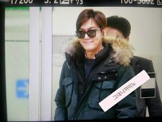 Lee Min Ho at Gimpo Airport 20141230