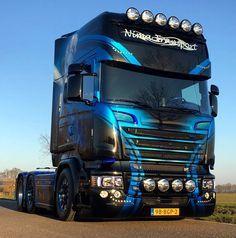 De nieuwe Nima: P!nk - Scania R730