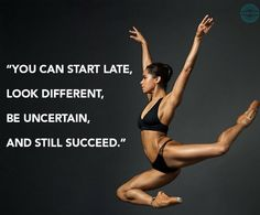 Misty Copeland, the first African American Female Principal Dancer with the prestigious American Ballet Theatre. Ballet Quotes, Dance Quotes, Dance Memes, Dance Motivation, Quotes To Live By, Life Quotes, Motivational Quotes, Inspirational Quotes, Learn To Dance