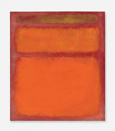 Mark Rothko's Orange, Red, Yellow Painting Sets post-war Auction Record with $86,000,000