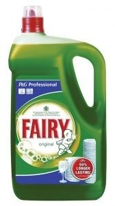 Fairy liquid. Cuts through grease and is long lasting. Perfect for use in…