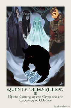 Dresden Codak cartoonist Aaron Diaz shares his own visual interpretation of Tolkien by illustrating each character of The Silmarillion - io9.com