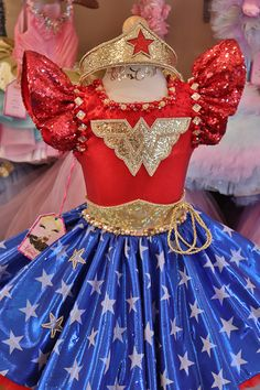 Wonder Woman Birthday, Wonder Woman Party, Princess Paris, Wander Woman, Maid Cosplay, Mexican Outfit, African Traditional Dresses, Cute Costumes, My Baby Girl