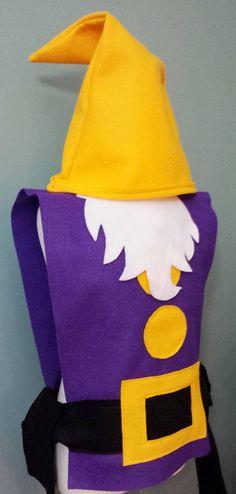 Nuestra adorable traje de enano siete juegos son perfectos para tus disfraces de Halloween del grupo, partido o jugar! Cada conjunto incluye: -7 enanos túnica (diferentes colores en tamaño de los niños solamente) Bebé/niño pequeño, niños y adultos juegos disponibles. También