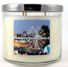 Slatkin & Co. 14.5 Oz. 3-wick Candle Summer Boardwalk