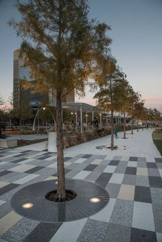 Considering details such as tree grating can change or improve a public space. #community #placemaking:
