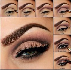 celine dion cut crease makeup - Google Search