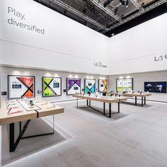 LG Messestand IFA 2016 Berlin rgb