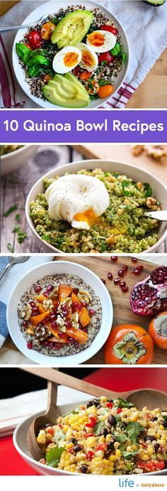 10 Quinoa Bowl Recipes for Breakfast, Lunch and Dinner